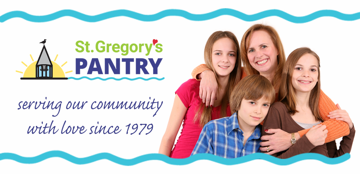 St. Gregory's Pantry - since 1979