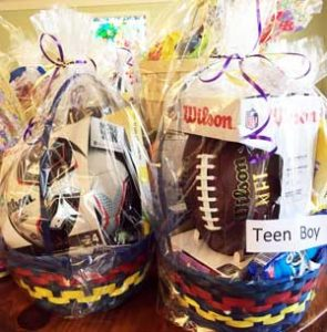 St. Gregory's Easter Baskets