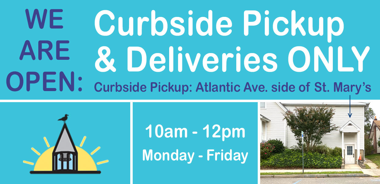 Curbside Pickup - Atlantic Ave. lower level