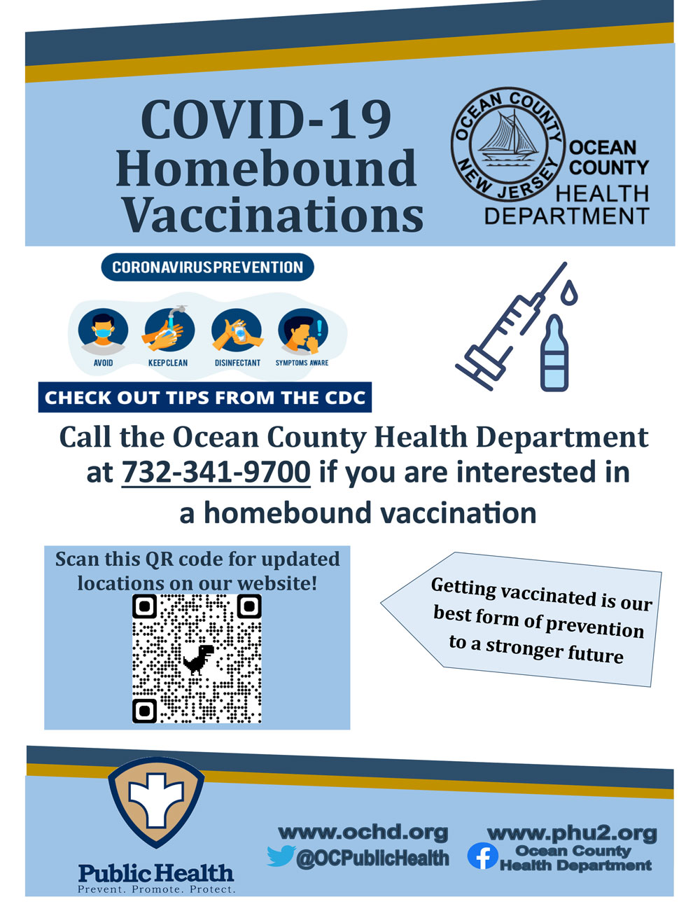 COVID-19 Homebound Clinics Flyer